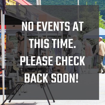 No Events At This Time. Please Check Back Soon!