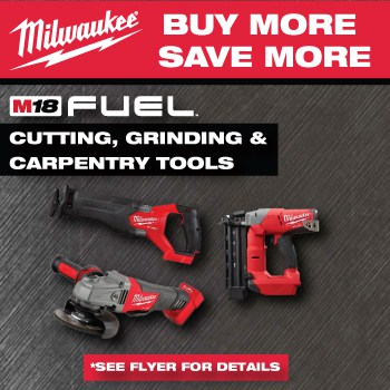 Milwaukee Buy More Save More Promo