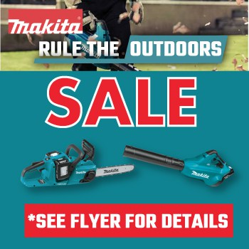 Makita OutdoorPromo WebImg 2021 | MAKITA RULE THE OUTDOORS SALE!